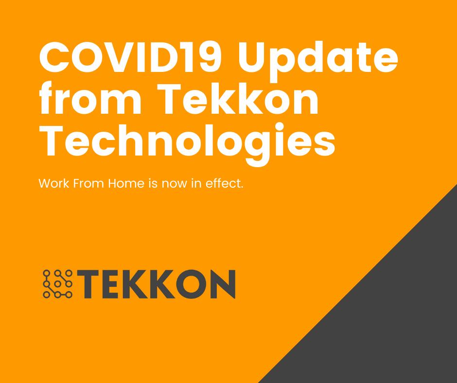 COVID19 Update from Tekkon technologies Australia and Nepal – 23 Mar 2020